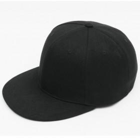黑色嘻哈帽 平沿帽