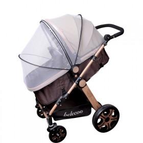 婴儿车蚊帐全罩式通用宝宝推车防蚊帐儿童伞车加密网纱