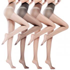 宝娜斯连裤袜春夏季超薄款丝袜女肉色性感隐形