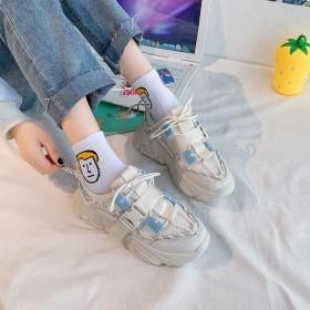 街拍运动休闲鞋子老爹鞋女ins潮鞋新款春夏韩版学生