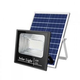 分离式智能太阳能灯户外有线防雨射灯家庭阳台遥控灯