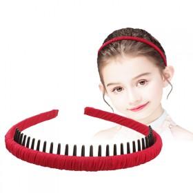 发卡发箍女百搭韩国细款简约外出防滑压发夹长齿洗脸头