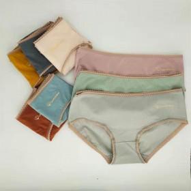 单条装女性纯棉内裤