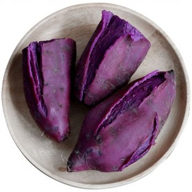 新鲜紫薯2斤板栗地瓜番薯批发小蜜薯山芋自种沙地红薯