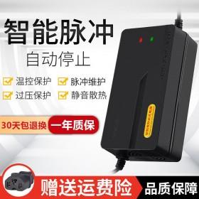 电动车电瓶充电器48V