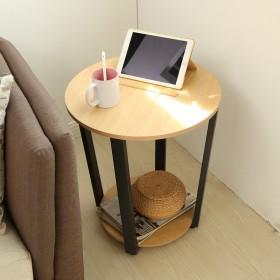 北欧沙发小茶几边几角几边柜小圆桌