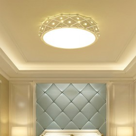 圆形led吸顶灯温馨客厅卧室儿童房间灯具现代简约