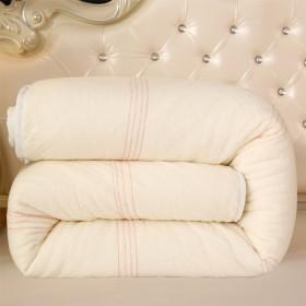 【包边工艺】新疆长绒棉被手工加厚保暖纯棉花被冬被