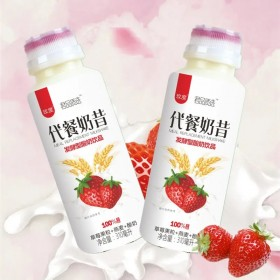 6瓶装水果燕麦酸奶代餐奶昔