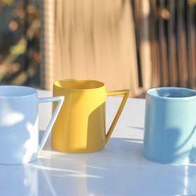 德镇原创陶瓷杯咖啡杯小精致水杯日系创意手作办公室杯