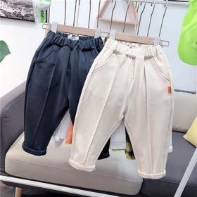 男童老爹裤春款4儿童萝卜裤2021年爆款2新款3岁