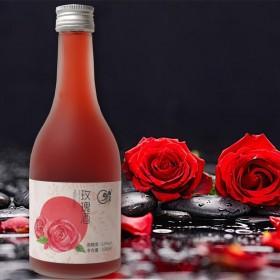果酒 女士低度甜酒320ml单支少女心玫瑰味