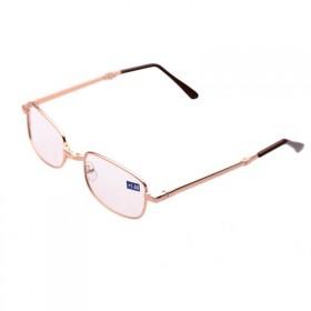 舒适折叠老花镜带盒子1副 老光眼镜男女通用