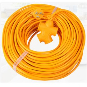 【10米】电瓶车充电延长线插座插板长线拖线安全插头