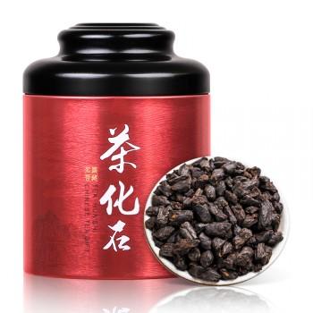 帝新茶叶特级糯米香茶化石普洱茶熟茶古树老茶罐装