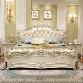 欧式床双人床主卧实木奢华现代公主床1.8米1.5米