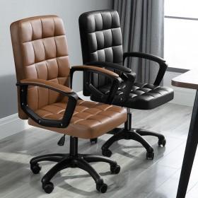 电脑椅家用会议办公椅升降转椅职员学习学生座椅简约凳