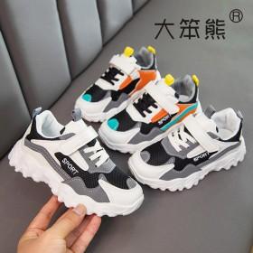 男女童老爹鞋2021年春夏新款潮百搭单网镂空运动鞋