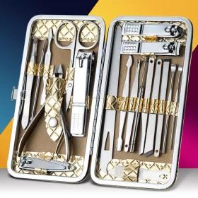 修剪指甲刀套装家用不锈钢耳勺指甲钳修甲工具修脚指甲