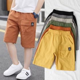 男童短裤夏季薄款儿童五分裤潮童中裤中大童
