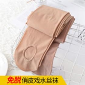 免脱钢丝袜防勾丝薄款压力连裤袜