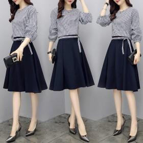 夏装2021新款女装时髦套装女韩版时尚上衣配裙子