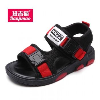 男童凉鞋韩版儿童沙滩鞋中大童防滑软底男孩休闲童鞋