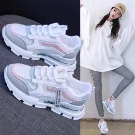 老爹鞋春秋韩版运动鞋休闲鞋ins学生网面小白鞋女
