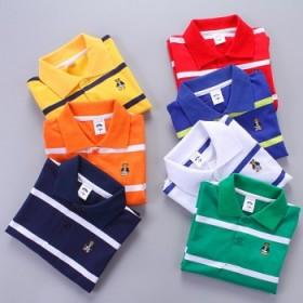 男童保罗衫儿童纯棉长袖打底衫