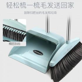 居家愿望扫把簸箕套装软毛笤帚撮箕组合卫生间刮水器单