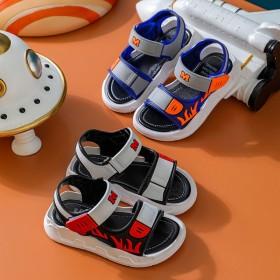男童凉鞋2021新款夏季中大童软底防滑小男孩沙滩鞋