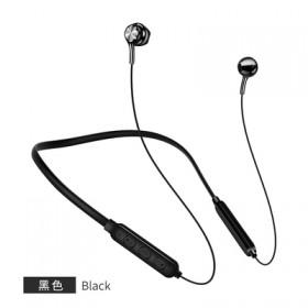 运动无线蓝牙耳机5.0磁吸跑步颈挂脖式双耳HiFi