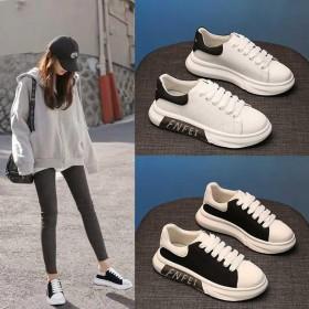 韩版厚底软底小白鞋女2021春季新款防滑网红百搭学