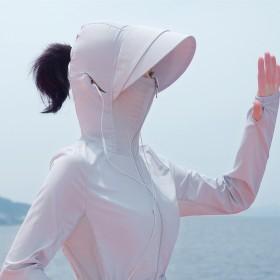 专业户外防晒衣女防紫外线UV防晒服防晒衫外套