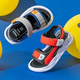 中大童男孩软底防滑小童宝宝鞋儿童沙滩凉鞋