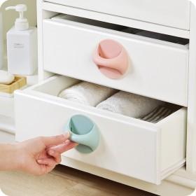 实用免打孔门拉手柜子抽屉备用粘贴式提拉器多场景开关