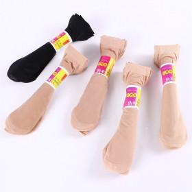 春夏新款10双女士小辣椒丝袜短袜子透气防臭肤黑丝光