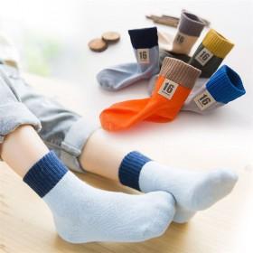 【5双】儿童纯棉薄款透气袜子