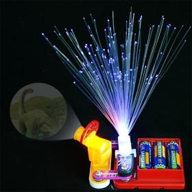 七彩光仟 投影送电池