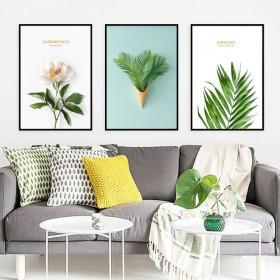 客厅装饰画沙发背景墙壁画办公室商铺