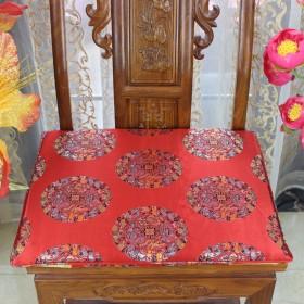 中式餐椅垫红木椅子坐垫