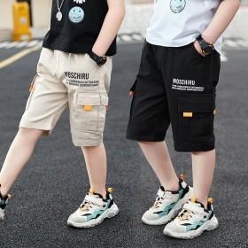 男童短裤夏装新款儿童五分裤中大童休闲裤子夏季韩版洋