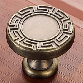 新中式仿古铜拉手现代简约抽屉柜子橱柜衣柜门把手厨柜