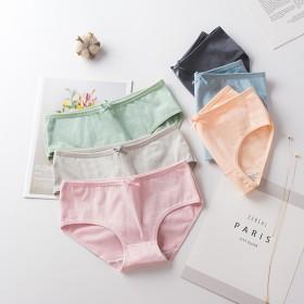 5条女士内裤少女