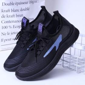 春夏季2021运动鞋男鞋夏季男士跑步鞋轻便网面透气