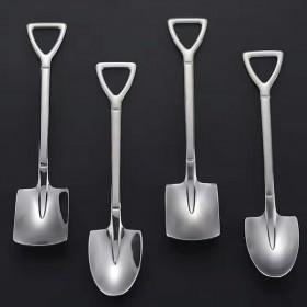 不锈钢铁锹勺子创意吃西瓜专用调羹可爱铲子汤匙
