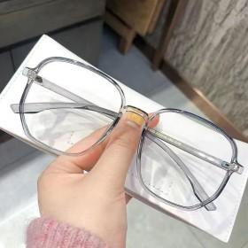 新款近视眼镜女韩版黑框眼镜女防蓝光可配有度数素颜大