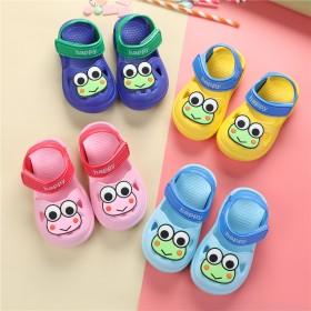 软底男童鞋儿童鞋宝宝1-6岁包头沙滩鞋