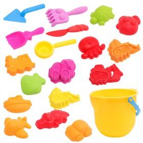 儿童沙滩玩具19件套装