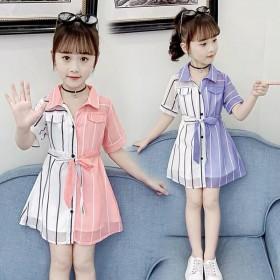 女童连衣裙夏装公主裙小女孩儿童裙子2021新款童装